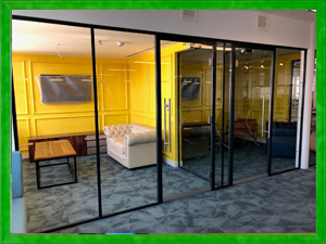 Glass Office Partitions Liverpool